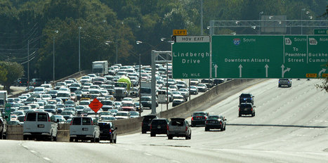 "Atlanta tops in typical commute distance | Buffy Hamilton's Unquiet Commonplace ""Book"" 