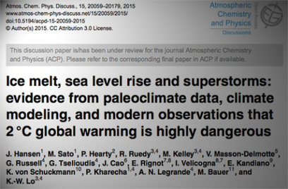 Wonk Alert: Hansen Paper now Online | Sustain Our Earth | Scoop.it