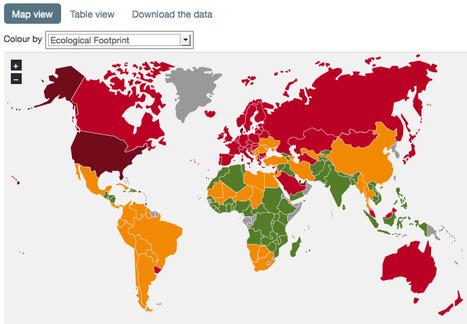 The data   Happy Planet Index   Nouveaux paradigmes   Scoop.it