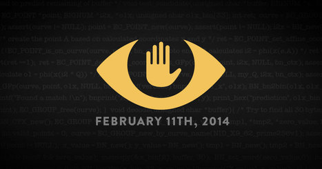 Today, February 11th 2014, Thousands of Websites are Protesting Surveillance. | Cultura Libre | Scoop.it