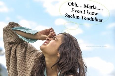 Maria Sharapova even Alia Bhatt knows Sachin Tendulkar - Voniz Articles | Tech News Voniz Articles | Scoop.it