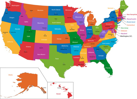 Which State Is Which? | Home School | Scoop.it