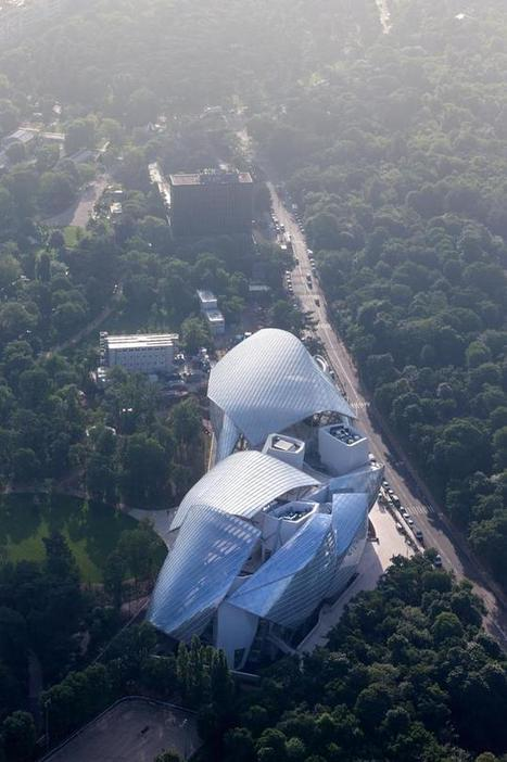 La Fondation Louis Vuitton par Frank Gehry   Architecture et Urbanisme - L'information sur la Construction Paris - IDF & Grandes Métropoles   Scoop.it