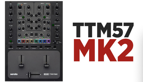NAMM 2015: Rane's TTM57 MKII + MP2015 Rotary Mixer | DJing | Scoop.it