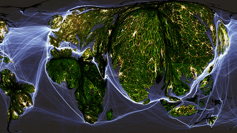 Crazy Maps Show The World Organized By Human Activity | Gaea Matrix | Scoop.it