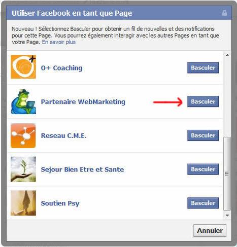 Facebook… Basculer sa Fan Page vers plus de visibilité   Time to Learn   Scoop.it