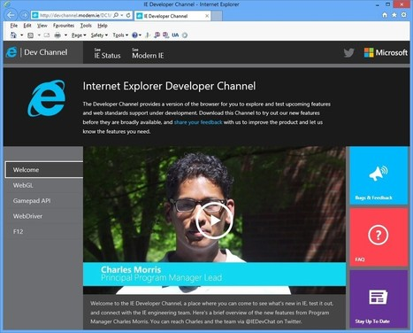 Internet Explorer Developer Channel 14.6.13.2228 - PC Advisor | uninstall tools | Scoop.it