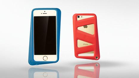 ARKHIPPO 'TILT' Case for iPhone 5 & 5s by Ark » Yanko Design | iPhone Case | Scoop.it