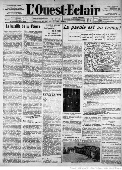 L'Ouest-Éclair (Rennes) - 17 octobre 1912 | Rhit Genealogie | Scoop.it