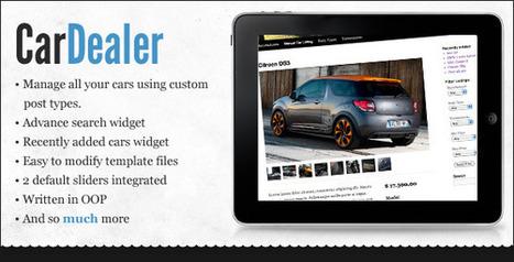 WordPress Car Dealer | My Best Wordpress Plugins | Scoop.it
