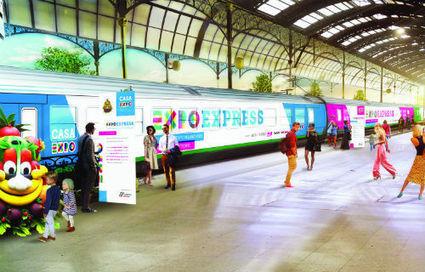 ExpoExpress:  le train est en partance de Venise pour présenter Expo Milano 2015 à toute l'Italie | Expo Milano 2015 | Scoop.it