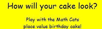 place value birthday cake - Math Cats | Maths for K-3 students | Scoop.it