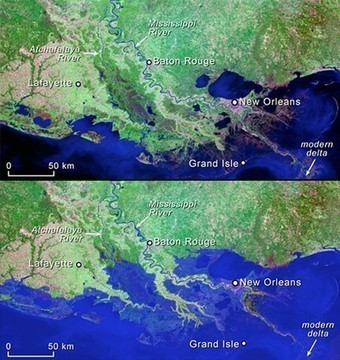 "Mississippi River Delta to ""Drown"" by 2100? 