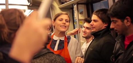 Michel et Augustin envoie sa DRH recruter dans une rame de métro | Marque employeur | Scoop.it