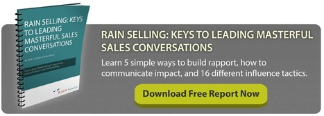 11 Questions for Insight Selling - RAIN Group | In the world of Sales | Scoop.it