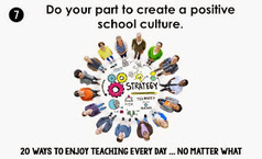 Teaching in Room 6: Unshakeable: Do Your Part to Create a Positive School Culture | Cool School Ideas | Scoop.it