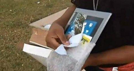Une femme achète un iPad $200, hors ce n'était qu'un miroir ! | Geeks | Scoop.it