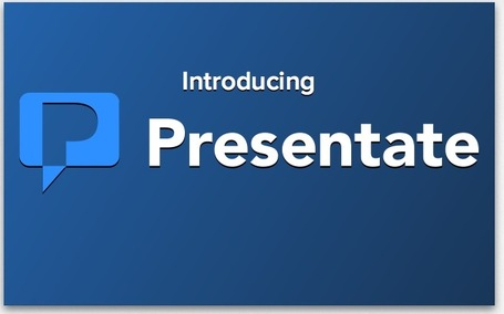Create Interactive Browser-Based HTML5 Presentations with Presentate (Alpha) | Gabriel Catalano human being | #INperfeccion® a way to find new insight & perspectives | Scoop.it
