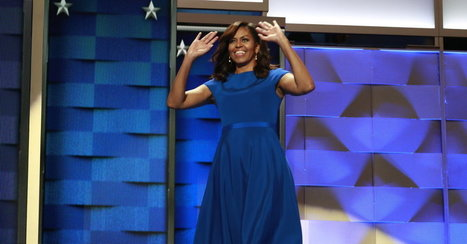 Michelle Obama's Dress May Have Looked Simple, but It Spoke Volumes | Current Events, Political & This & That | Scoop.it