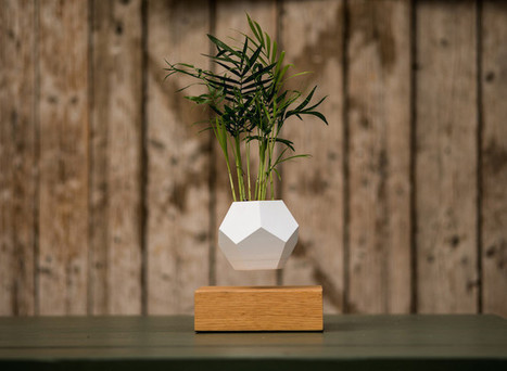 Innovative Planters Let You Grow a Levitating Garden That Rotates in Mid-Air | Designed for Form and Function ....Chairs and Other Objects | Scoop.it