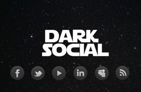 OUBLIEZ Facebook, pensez Dark SOCIAL | My Community Manager | Networking the world - Espace et réseaux | Scoop.it