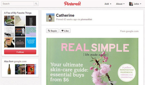 Use Pinterest to boost your site's traffic, without looking like amarketer | ten Hagen on Social Media | Scoop.it