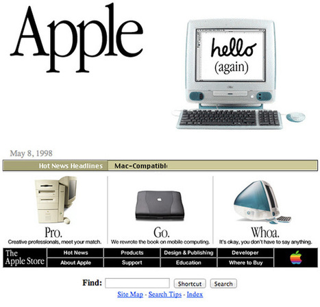 What Did Famous Companies Look Like At The Dawn Of The Internet? | Educational Technology Resources | Scoop.it