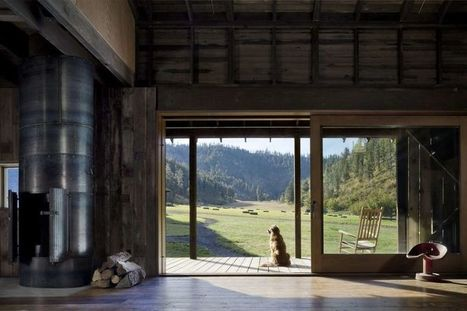 Restauration d'une grange rurale en retraite de vacances aux USA | Construire Tendance | Dans l'actu | Doc' ESTP | Scoop.it