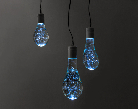 water balloon light bulb by torafu architects - designboom | architecture & design magazine | This is most certainly not a design page | Scoop.it