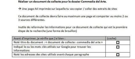 Le document de collecte vu par les élèves | Pédagogie documentaire et litteratie numérique | Scoop.it