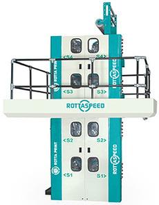 Web Offset Printing Press, 4 Hi Tower, Rottaspeed Manufacturers India | Web offset Printing Machines | Scoop.it