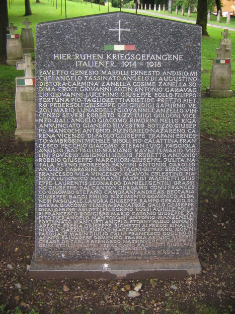 Grande guerra: Italiani sepolti nei Cimiteri Militari all'estero | Généal'italie | Scoop.it