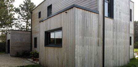 bardage bois ca va barder mon habitat ver. Black Bedroom Furniture Sets. Home Design Ideas
