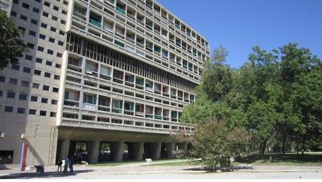 La Cité Radieuse de Le Corbusier à Marseille fête ses 60 ans et se dévoile...   The Architecture of the City   Scoop.it