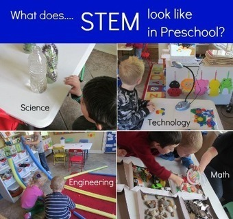 What does STEM look like in preschool and what is STEM anyway? | Grow with Kids | Scoop.it