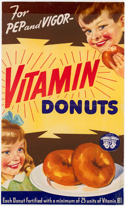 Vitamin Donuts, WWII Call out the Donuteers | A Cultural History of Advertising | Scoop.it