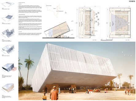 [AC-CA] International Architectural Competition - Concours d'Architecture | [DAKAR] Temporary Cinema | The Architecture of the City | Scoop.it