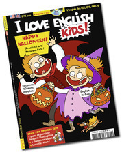 Happy Halloween ! I Love English for kids ! n° 177 - November 2016 | Revue de presse du CDI | Scoop.it