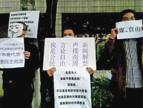 Editors at Chinese newspaper call for end to party censorship | The Independent | Kiosque du monde : Asie | Scoop.it