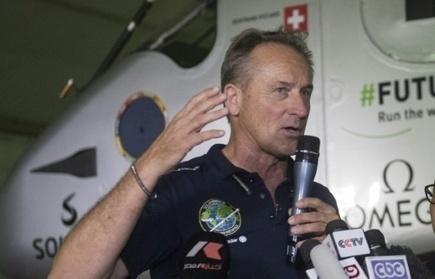 Solar Impulse: André Borschberg entre dans la légende de l'aviation   Planete DDurable   Scoop.it