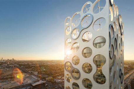 Photos Green towers - Cor building – Miami, la tour ''Puissance 4'' | Green Architecture | Scoop.it