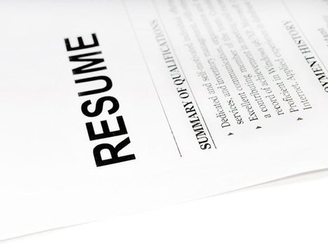 These four common mistakes could land your résumé in the reject pile | career development | Scoop.it