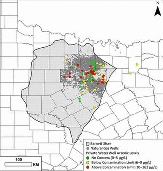 Gaz de schiste: nouvelle mise en évidence de la pollution de l'eau par la fracturation hydraulique au Texas   Pétrole et gaz de schiste   Scoop.it