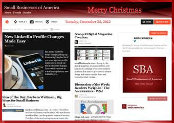 Small Businesses of America News : Tuesday December 25,2012 | Founder : Small Businesses of America | Scoop.it
