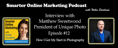 Matthew Sweetwood, Unique Photo Interview – Podcast and Video ... | SEO | Scoop.it