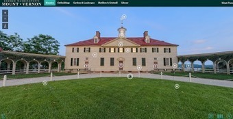 Free Technology for Teachers: Take a Virtual Tour of Mount Vernon | Edtech PK-12 | Scoop.it