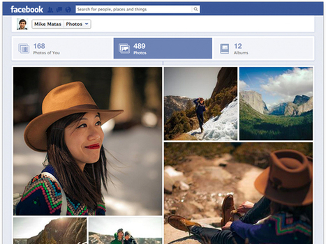 Facebook : bientôt un nouveau look pour les photos ! | Internet world | Scoop.it