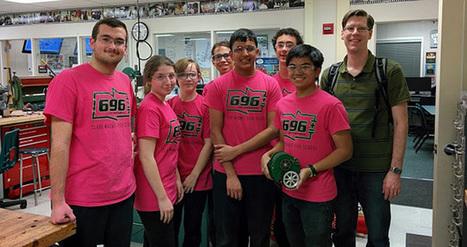 Hackaday Visits The Clark Magnet High School | dream. design. make. | Scoop.it