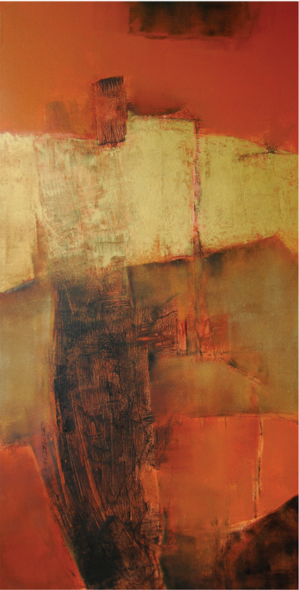 Gallery Pradarshak: On View at Pradarshak - Abstract Paintings by Umesh Patil | Abstract Art painting | Scoop.it