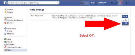 Facebook tutorial: How to stop Videos Auto-Playing - Access I.T. Ltd | Technology | Scoop.it
